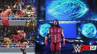 WWE 2K19: AJ Styles 10 Epic Attires w/ Updated Tron GFX & Hood Animation! (PC Mods)