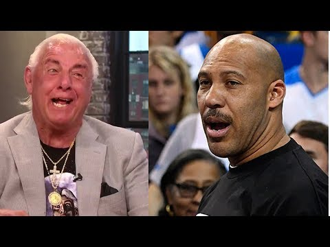 LaVar Ball TRASHED & Called Out by Ric Flair - Wooooo!