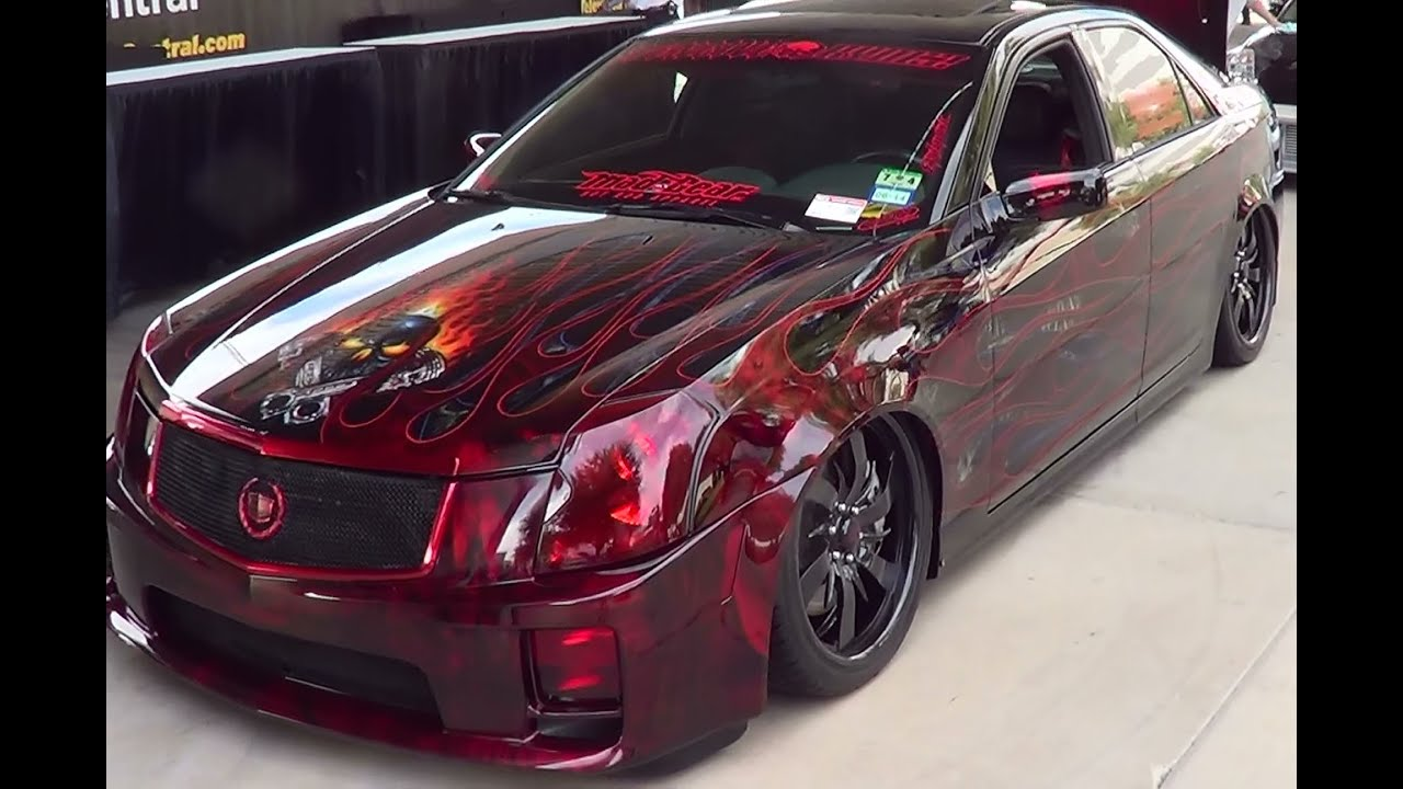 2004 Cadillac CTS-V Custom SEMA 2014 - YouTube