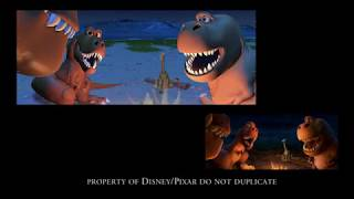 The Good Dinosaur I Layout Sequence I Charlie Ramos I 3D Animation Internships