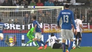 Эль Шаарави против Германии