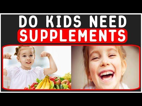 Supplements for children