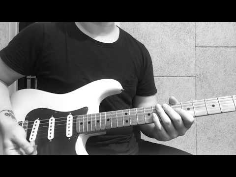 Mariya Takeuchi- Plastic Love guitar solo cover