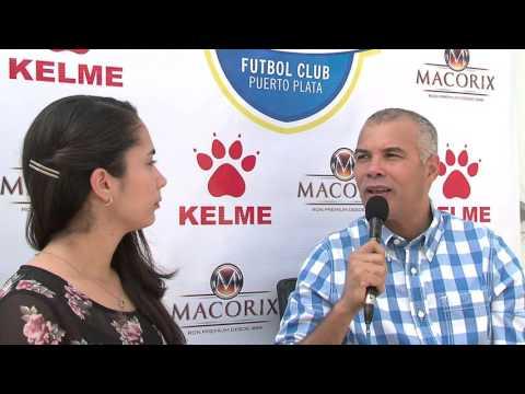 Entrevista de Rubén Garcia, presidente de Atlántico Fútbol Club Puerto Plata