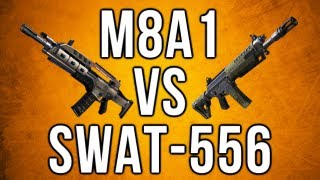 Black Ops 2 In Depth - M8A1 vs. Swat-556