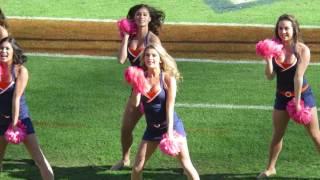 University of Virginia Cheerleaders - Sexy Dancing - 10/22/2016