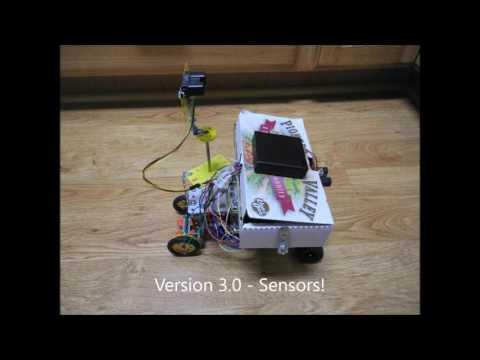 Erector Set Arduino Robot