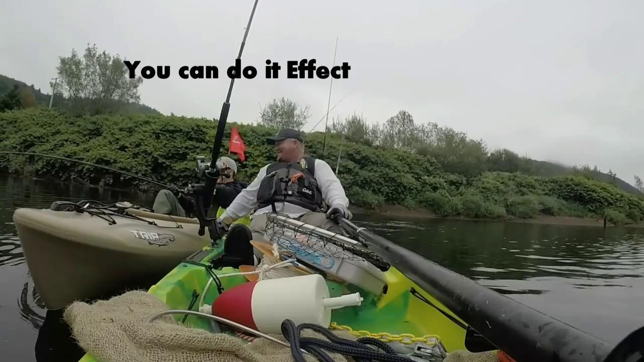 Nehalem river kayak salmon fishing pt 2 youtube for Nehalem river fishing
