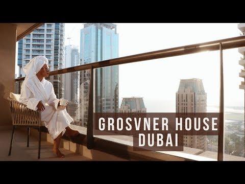 #ExploreWithMina | Grosvenor House Dubai | فندق يجمع اطيب المطاعم العالمية
