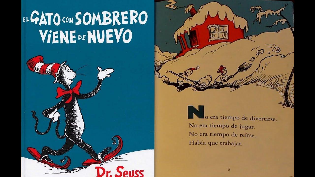 Increíble Dibujos De Gato En El Sombrero Friso - Dibujos Para ...
