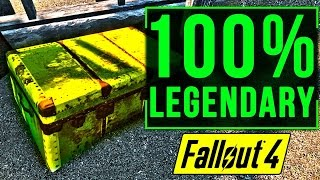 Fallout 4 BEST LEGENDARY Weapons Farming Location Guide (How to Get ALL Legendary Weapon FAST)