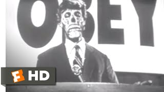 They Live (1988) - Aliens in the Grocery Store Scene (3/10) | Movieclips