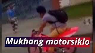 24 Oras: Bisikleta na pinagmukhang motorsiklo, viral sa social media