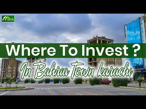 Where to invest in Bahria Town Karachi