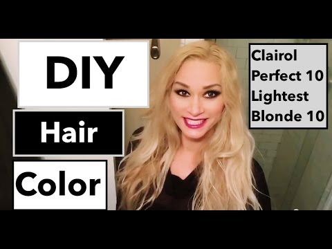 DIY Hair Color for Blondes! How to color your hair at Home Perfect ...