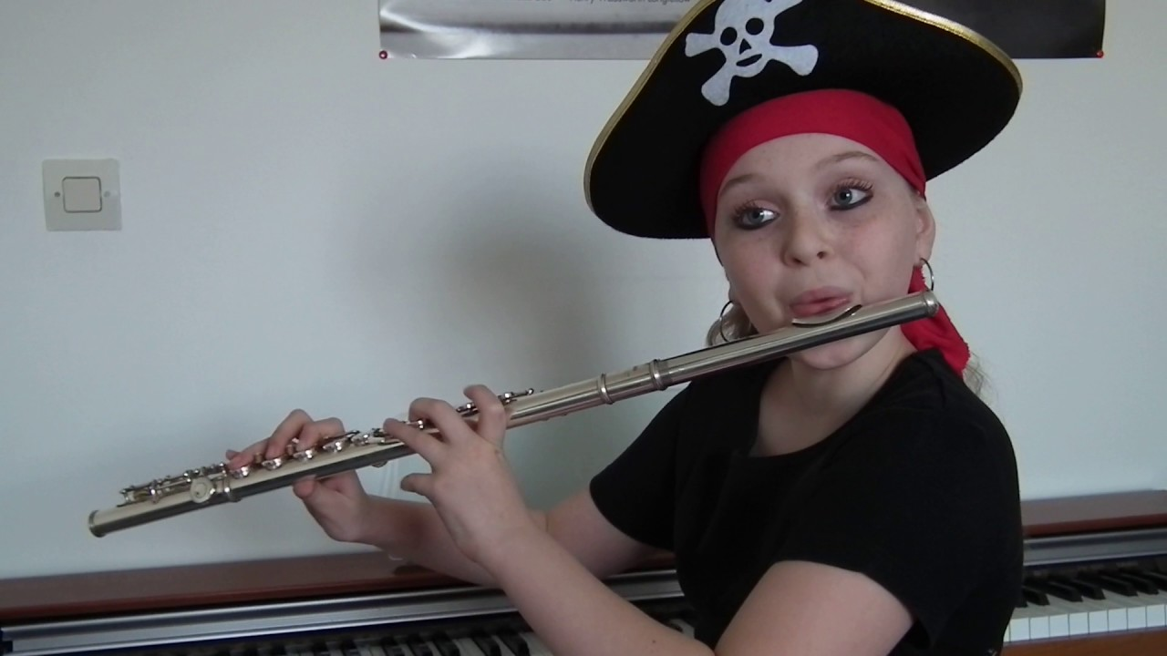 Pirates des caraibes la flute traversiere youtube for Housse flute traversiere