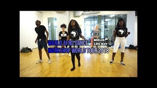 Berlin Afro Dance to the world  - Workshop Tour 2018 // Lucia Rafael