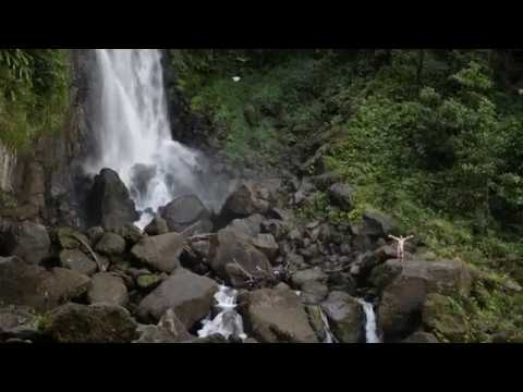 Naked Man Photobombs Drone and Tour Group | Trafalgar Falls, Dominica