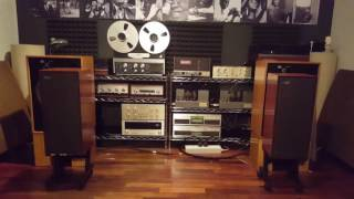 CELESTION DITTON 15 + GRUNDIG SV80 PLAYS YELLO !
