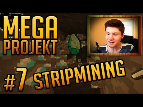 Minecraft Mega Projekt #7 (Dner) - Automatisches Strip Mining