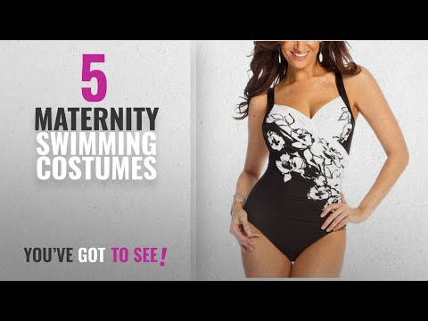 b2ec078734b9f Top 10 Maternity Swimming Costumes [2018]: Hibote Women's Plus Size One  Piece Swimsuit Sets V-Neck - YouTube