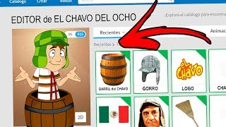 I CREATE AN ACCOUNT TO THE EIGHT CHAVO WITHIN ROBLOX! In Spanish!
