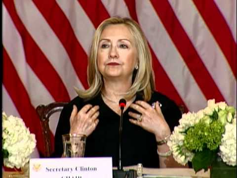 Secretary Clinton Delivers Remarks at a Council on Women