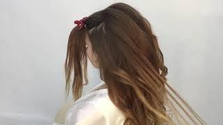 Шикарная свадебная причёска
