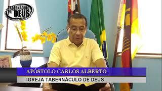 MANHÃ COM DEUS * 09/07/2020 * JOEL 2 VERS 19 * APÓSTOLO CARLOS ALBERTO * IGREJA TABERNÁCULO DE DEUS