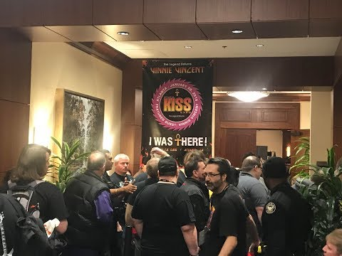 Lines, Wasted Time, and Vinnie Vincent   The Atlanta KISS Expo 2018 Part 2
