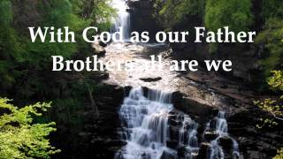 WHISPERS OF MY FATHER - LET THERE BE PEACE ON EARTH by Vince Gill and Jenny Gill with lyrics