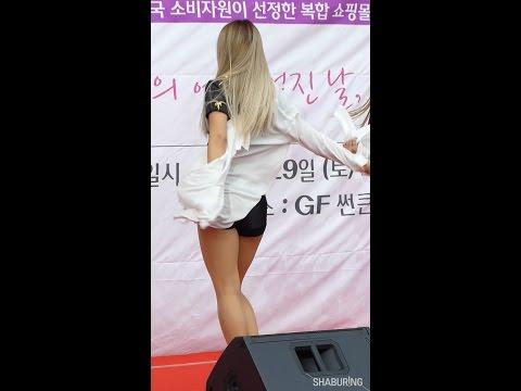 161029 블랙퀸(BLACKQUEEN) 잔디 Body Party 직캠 @ 김포공항 롯데몰 10월의 어느 멋진날 by 샤부링