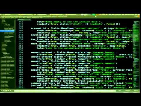 Lesuisse - Odoo the underdog python killer app. A python framework for web based business apps.