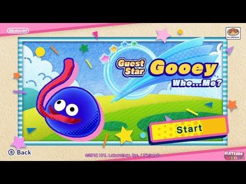 Guest Star Mode: Gooey | Kirby Star Allies DLC ᴴᴰ (2018)