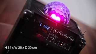 HolySmoke iDisco Mini - Portable Party speaker