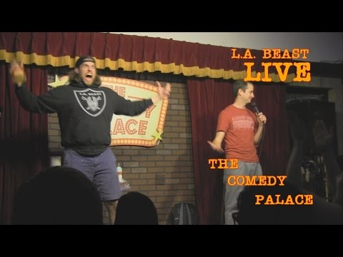 L.A. Beast Performs LIVE at The Comedy Palace | San Diego (Warning: Cactus Vomit)