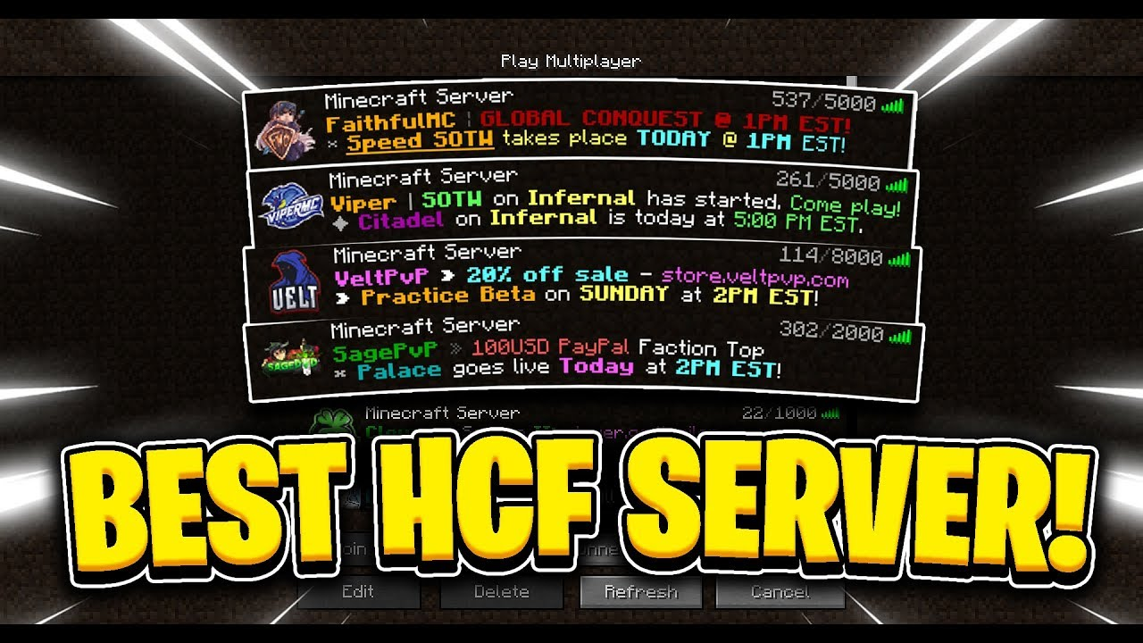 Hcf Servers Minecraft
