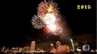 Новый год в Париже (HD). Фейерверк. Paris fireworks New Years.(, 2013-01-02T09:17:58.000Z)