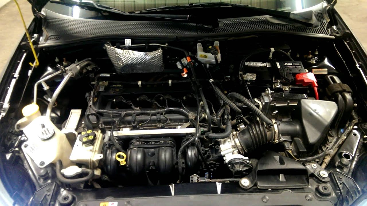 2009 Ford Focus Ses Coupe Engine Bay Youtube