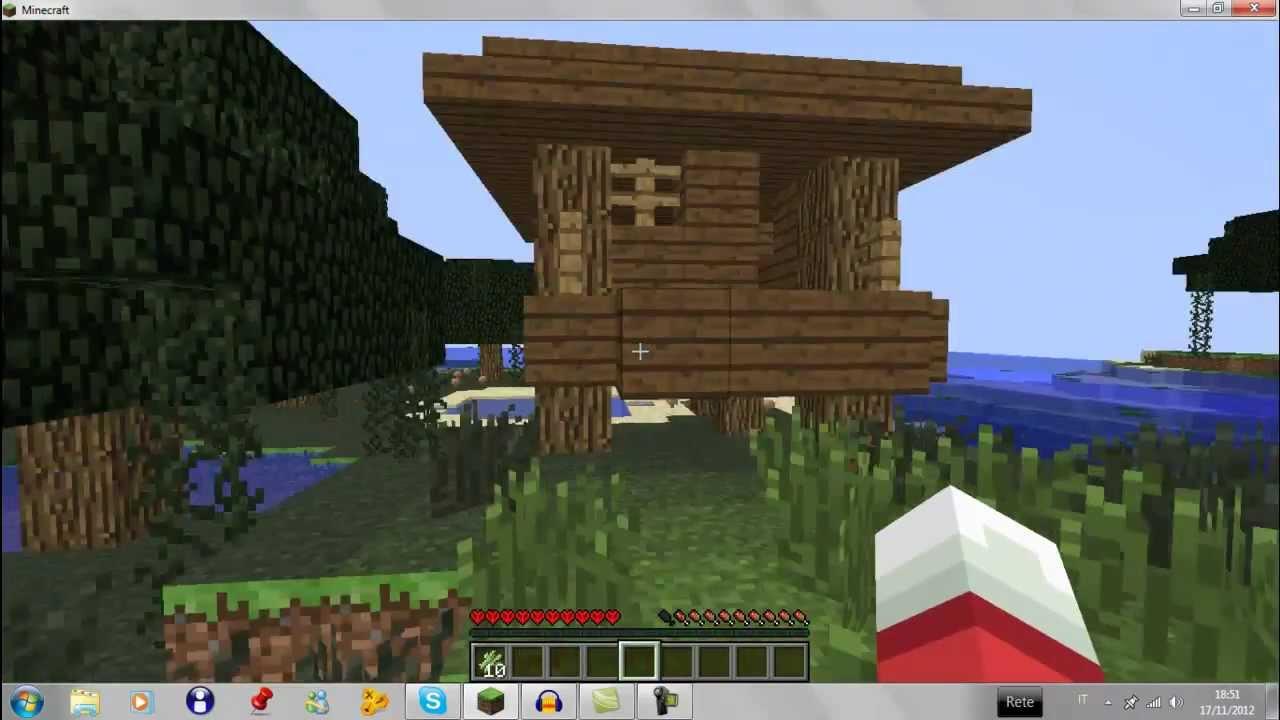 Minecraft casa della strega e alcune informazioni youtube for Piccoli progetti di casa di minecraft