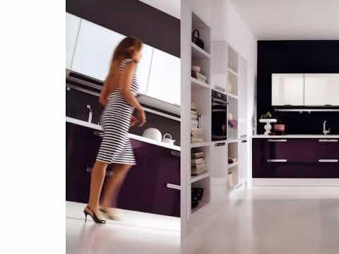 Cucina mmoderna Lube modello Alessia. - YouTube