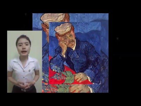 วิจารณ์งานศิลปะ - Portrait Dr. Gachet