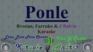 Ponle Rvssian, Farruko, J Balvin Karaoke Produce Cristian Remix.mp3