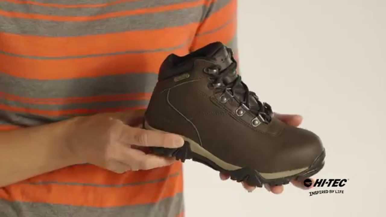 d02bf527676 Altitude V Waterproof JR Boys - Premium Kid's Hiking Boot from Hi-Tec  (31297)