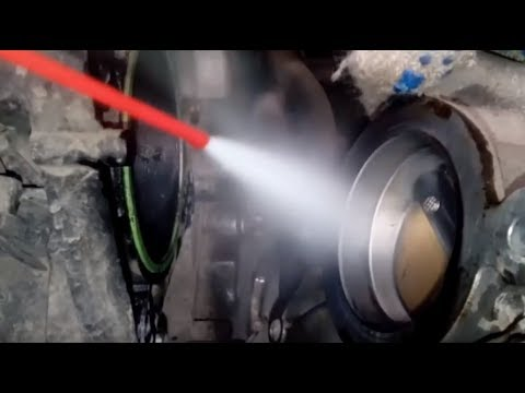 mitsubishi 4a91 the throttle cleaning - youtube
