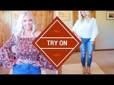 Fall TRY ON Haul   Fashion Nova, Charming Charlie & Nubyen