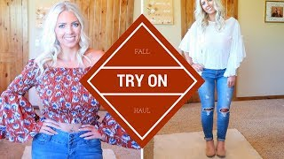 Fall TRY ON Haul | Fashion Nova, Charming Charlie & Nubyen
