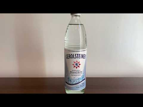 Gerolsteiner Sparkling #Water Test - PH And TDS