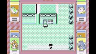 Celadon City Unused Exit? (Pokémon Red and Blue)
