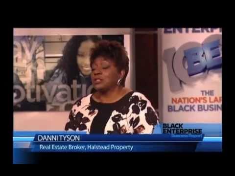 Free Business promotion PPT template for Black Enterprise